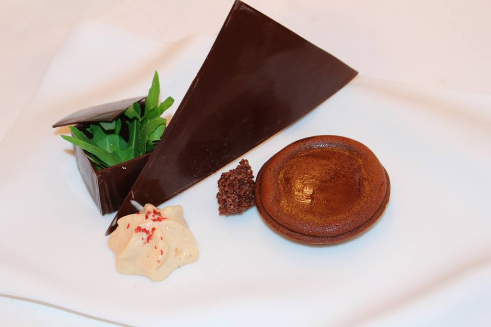 Chocolate and Rughetta Don Alfonso 1890 Restaurant