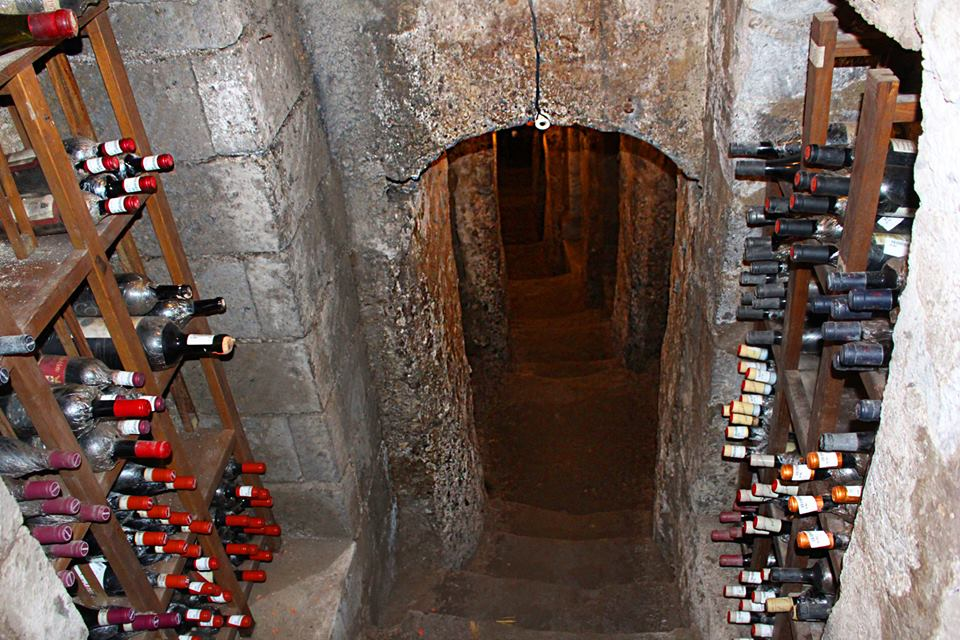 The wonderful Cellar of Don Alfonso 1890 Restaurant